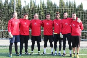 Equipo de entrenadores del II Clinic de Porteros