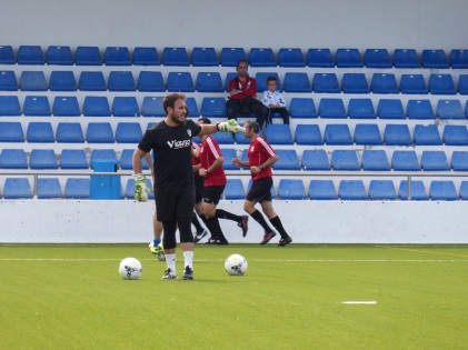 Carlos Gómez prepartido