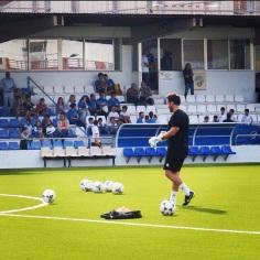 Carlos Gómez en partido