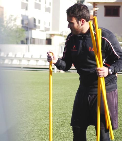 Carlos Gómez entrenador de porteros